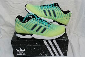 finest selection 5548a fc25d New Adidas Torsion ZX Flux Xeno #113543-360 Green/Yellow ...