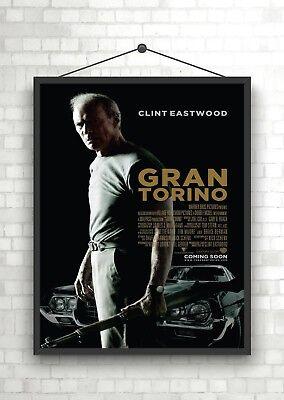 Gran Torino Classic Movie Poster Art Print A0 A1 A2 A3 A4 Maxi