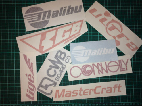 Wakeboard Stickers Pack 14 Wake Decal Stickers Ronix Jet Pilot Hyperlite KGB CWB