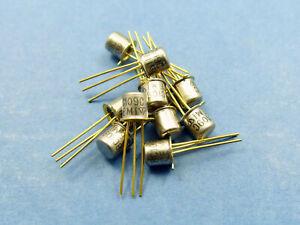 10x-BC109C-negativo-positivo-negativo-Transistor-de-pequena-senal-de-bajo-ruido-TO-18-metal-puede