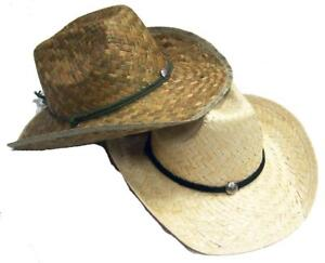 Details about BUY 1 GET 1 FREE adult size ZIG ZAGGED WOVEN COWBOY   COWGIRL  HAT w headband  36 24f0876c6869