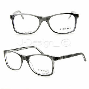 e22eb324a800 VERSACE MOD.3155 933 Eyeglasses Rx Eyewear - Made in Italy - New ...