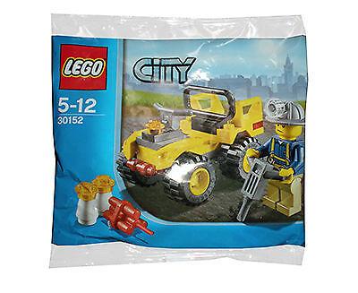 Diplomatique Lego City Mining Quad (30152) De Nouvelles VariéTéS Sont Introduites Les Unes AprèS Les Autres