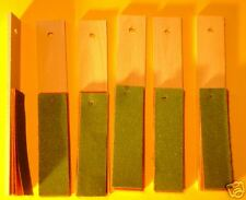 Sand Paper Strips To Sharpen Amp Repoint Pencillot Of 6 Sets Free Shipping