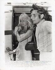 1963 ORIGINAL Photo French Sex Symbol BRIGITTE BARDOT Honeymoon Las Vegas