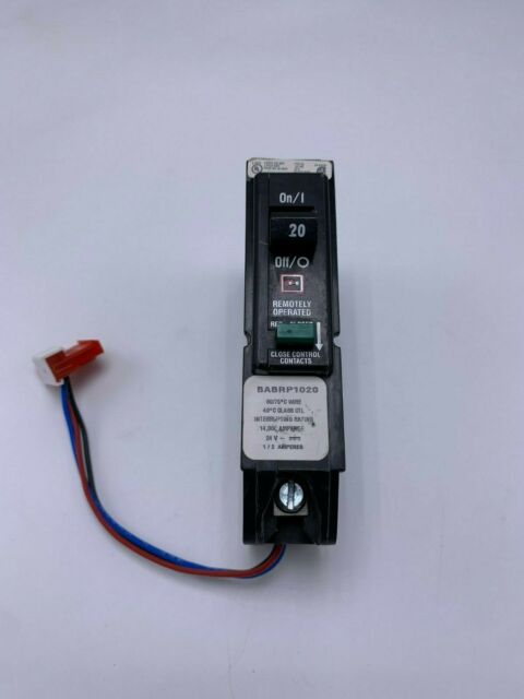 Cutler Hammer BABRP1020 20A 1P 120V Remotely Operated Circuit Breaker Used