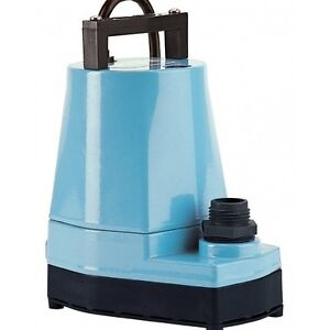 Submersible utility pump water pond fountain outdoor for Yard pond pumps