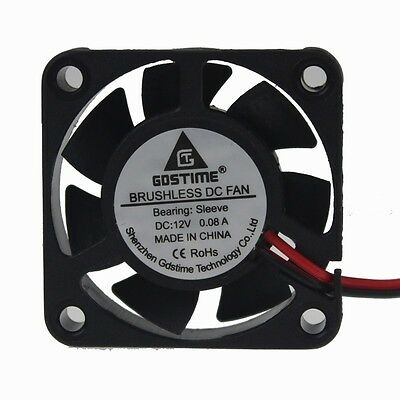 Wholesale 5pcs 12V 3Pin 40x40x10mm 9Blades Brushless Cooling Cooler Fan