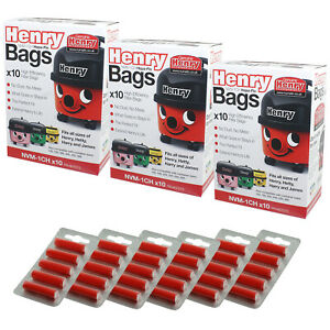 NRV200 10 x Hoover Bags Genuine Numatic 604015 907075 NVM-1CH Vacuum Bags