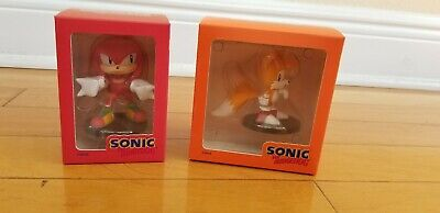 Sonic The Hedgehog Boom8 Series Vol 3 Tails 4 Knuckles Pvc Figures Set Of 2 Ebay