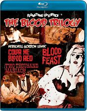 The Blood Trilogy  (Blood Feast / Two Thousand Maniacs! / Color Me Blood Red)...