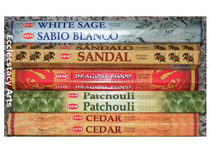 Hem-Incense-Dragons-Blood-White-Sage-Patchouli-Sandal-Cedar-Sticks-Sampler