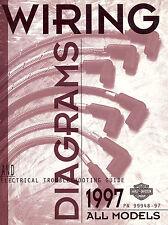 1997 HARLEY-DAVIDSON WIRING DIAGRAM & ELECTRICAL TROUBLESHOOTING MANUAL -NEW