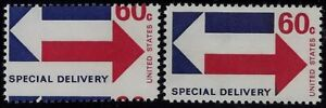 "E23 - Scarce 60c Misperf Error / EFO ""Special Delivery"" Mint NH"