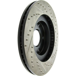 Disc Brake Rotor-High Performance Drilled And Slotted Centric 127.66016L