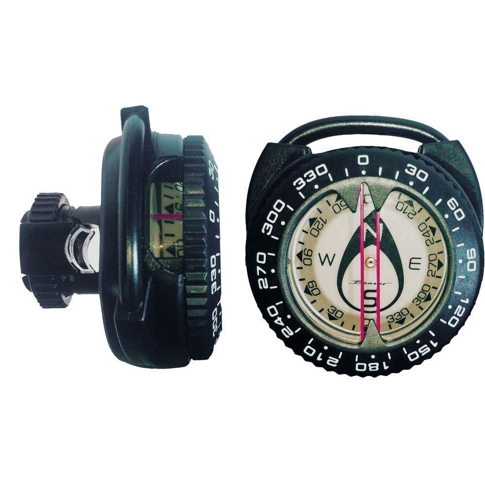 Beaver Explorer HOSE MOUNT easy attach SCUBA Divers COMPASS or Clip to gear