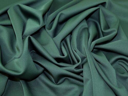 RST-TW112-M Lady McElroy Luxury Plain Scuba Jersey Knit Dress Fabric