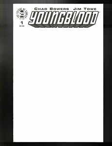 Youngblood #1 Blank Cover Variant Edition Image Comics CB12739