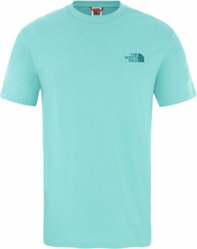 THE NORTH FACE Simple Dome T92TX5BDF Baumwolle T-Shirt Kurzarm Shirt Herren Neu