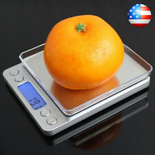 Portable 3000g x 0.1g Digital Scale Jewelry Pocket Balance Weight Gram LCD US