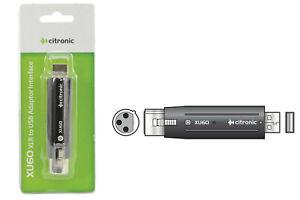 Citronic-Female-XLR-To-USB-Adaptor-Converter-Interface-Mic-Microphone-Recording