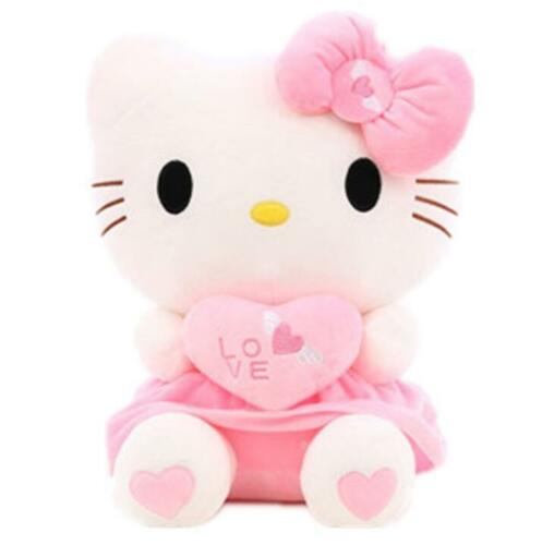 "20/"" Cute Hello Kitty Pink Love Giant Huge Stuffed Plush Animal Toy Doll Gift"