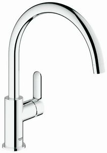 Grohe-Spueltischarmatur-Start-Edge-DN15-360-verchromt-Kuechenarmatur-Wasserhahn