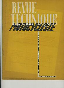 (31A)REVUE TECHNIQUE MOTOCYCLISTE PEUGEOT 56-156 - R.GILLET 750 et 1000 cc xkAyhCM3-07135728-644953139