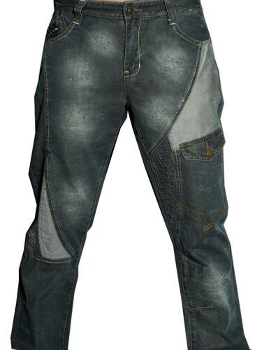Police Unique Comunista Crosshatch Mens Designer Voi Pantaloni Jeans Bar denim 09 pnfOwzq
