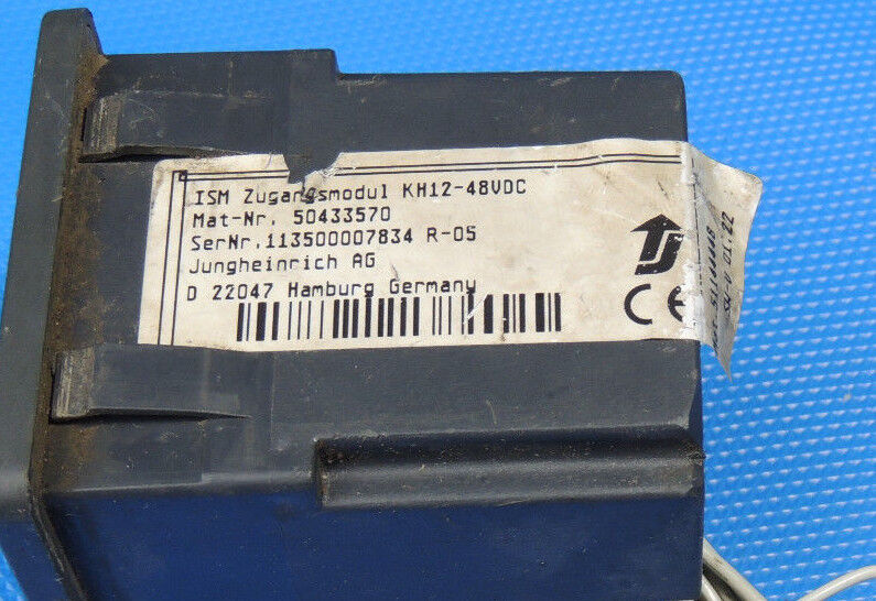 JUNGHEINRICH ISM accès Module 50433570 displayriss KH 12-48vdc displayriss 50433570 Incl. Facture 8ee979