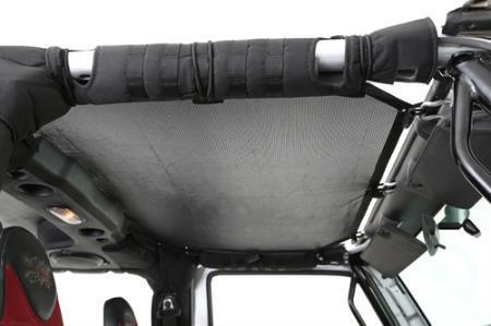 Cloak Extended Mesh Top for Jeep Wrangler TJ 1997-2006 Black Smittybilt 95600