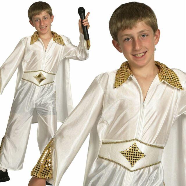 FANCY DRESS # BOYS ELVIS AMERICAN EAGLE COSTUME LARGE AGE 10-12