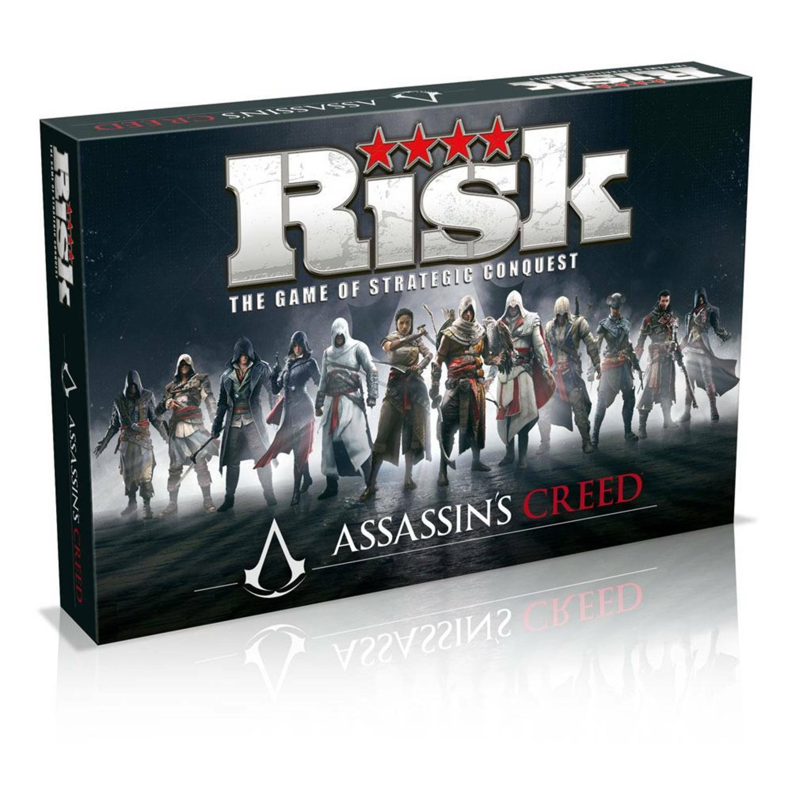 Risk Assassins Creed Edition Work In The Dark To Serve The Light Board Game