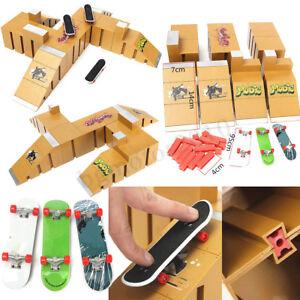 Skate-Park-Ramp-Parts-For-Tech-Deck-Fingerboard-Finger-Board-Ultimate-Parks
