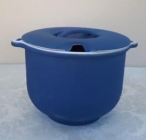 RARE Blue Bennington potiers Couvercle Couvert manipulés soupière 1891 DG David Gil-afficher le titre d`origine aMP8QaQB-09155456-884176136