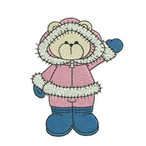 Machine Embroidery Designs Bearing All Seasons III 1083