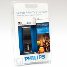 Used Philips PTA01/00 WiFi Wireless LAN adapter USB Dongle for SMART TV Wi-Fi