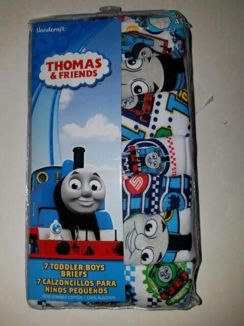 Thomas The Tank Engine Train Toddler Boys 7 Pack Underwear Briefs /…