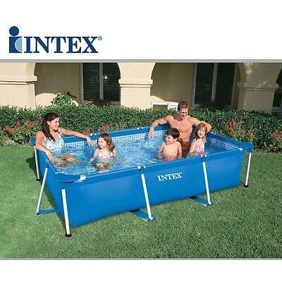 Piscina fuoriterra Intex 28272 frame rettangolare piscine 300x200x75 cm - Rotex