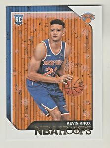 2018-19-Panini-Hoops-HOLIDAY-EDITION-242-KEVIN-KNOX-RC-Rookie-New-York-Knicks