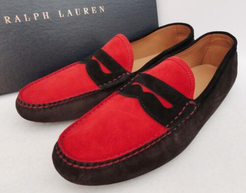 Loafers Eu44 Ralph Lauren New Us11 Shoes Mens Auth Uk10 Leather TtwqndY