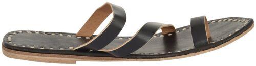 Womens leather slippers designer sandals ladies flip flops shoes black slippers
