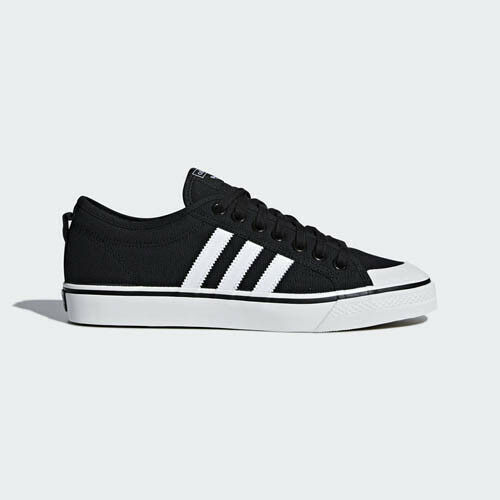 Adidas B37856 NIZZA Casual chaussures noir blanc sneakers
