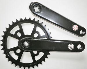 32-52T 104bcd 170mm Single Speed Crankset MTB BMX Bike Crank set Chainring Bolt