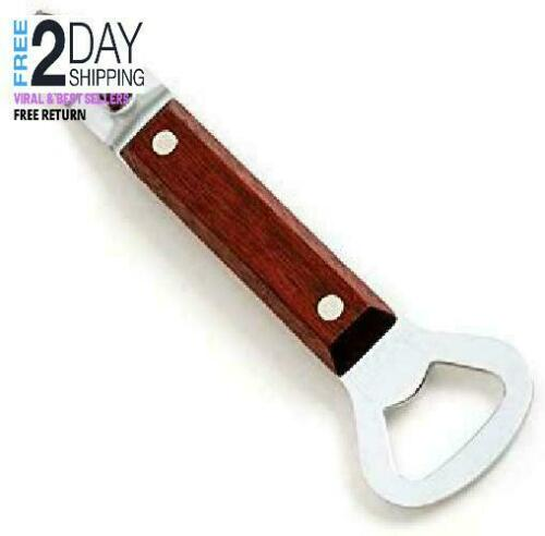Norpro 400 Can Punch Bottle Opener Brown