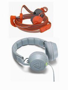 90f0dd29be3 headphone Grey Splash On-Ear Headphones or Sweat Resistant Earbuds ...