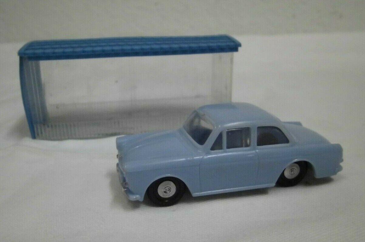 60er Siku V 180  VW 1500 mit Garage  Modell Auto  60s Vintage