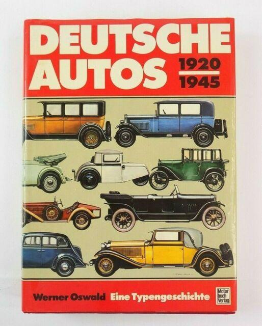 Deutsche Autos German Autos 1920-1945 Book in German Werner Oswald - Hardcover