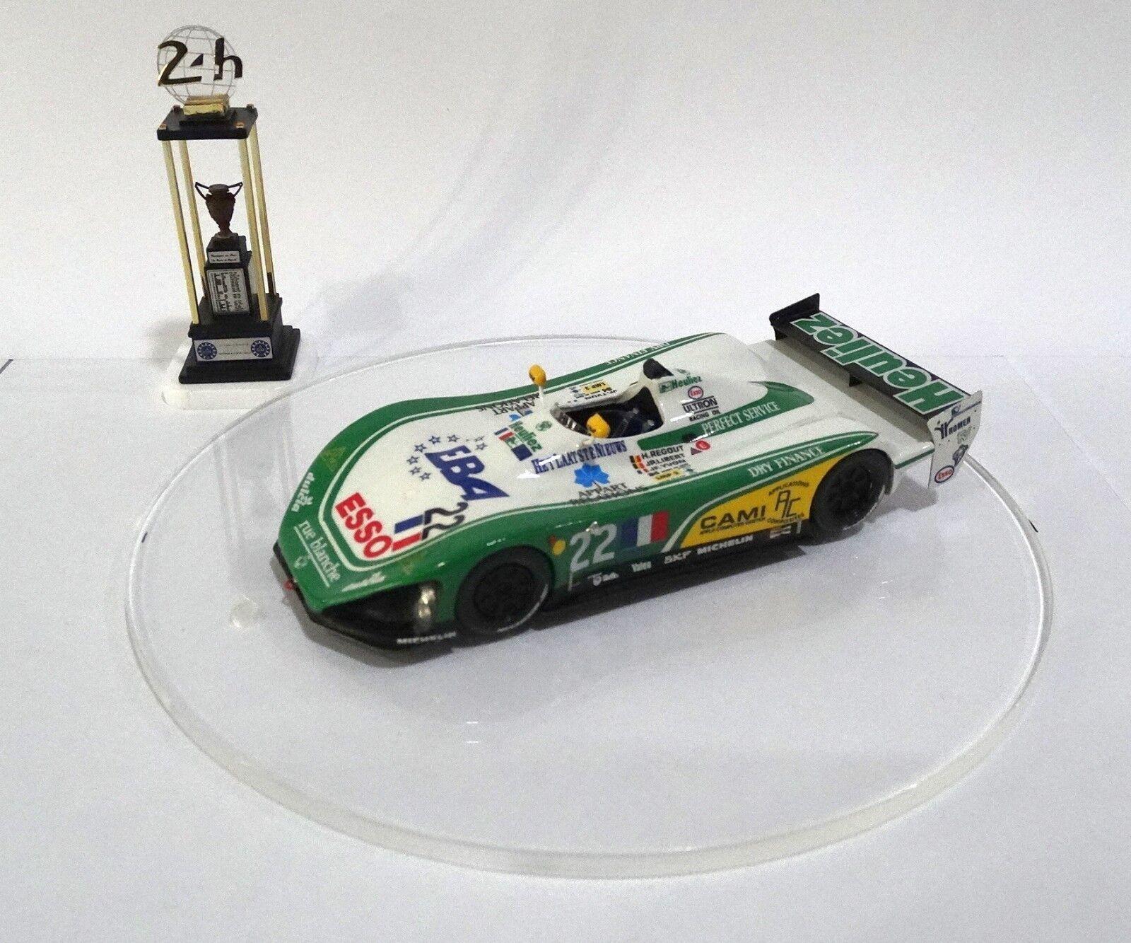 WR LM93  22 HEULIEZ Le Mans 1994 Built Monté Kit 1/43 no spark MINICHAMPS