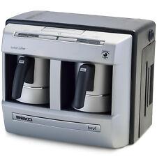 Beko 2113P Keyf Full Automatic Greek Turkish Coffee Machine Maker - Double Pot